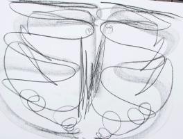 Geführtes Zeichnen - meine kraftvollen Innenräume -